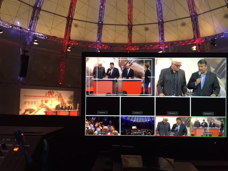"""Livestream der SPD Programmkonferenz """"Europa"""""""