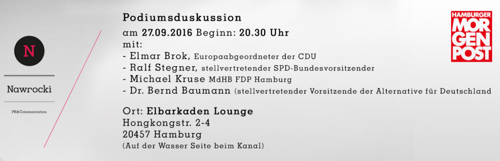 """Livestream auf der Webseite der """"Hamburger Morgenpost"""""""