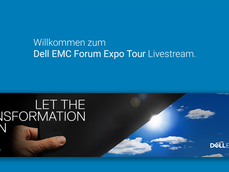 Livestream: Dell EMC Expo Tour Deutschland 2016