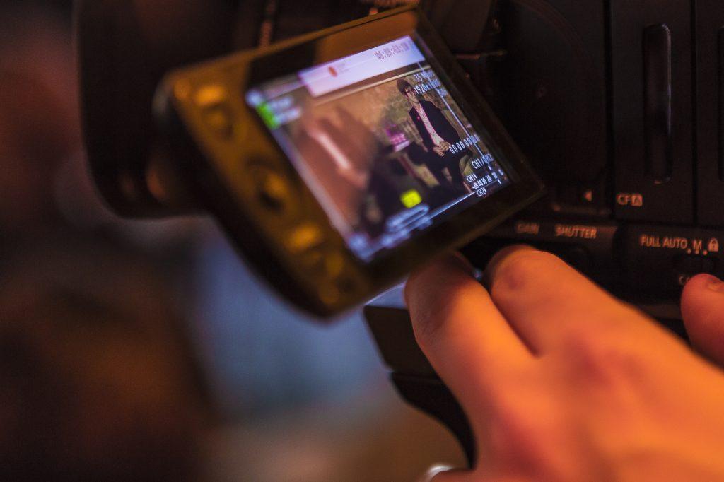 Kamera beim Livestream