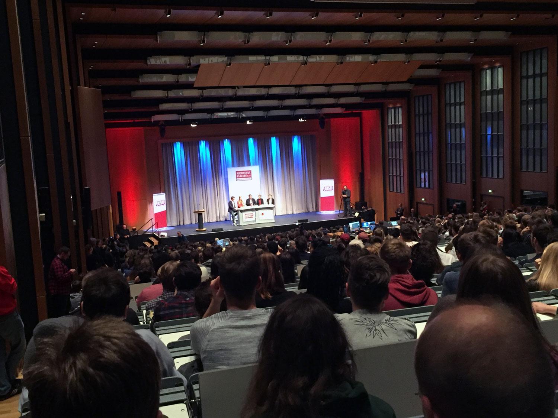 Hochschuldialog in Köln: Liveübertragung aus der Uni Köln