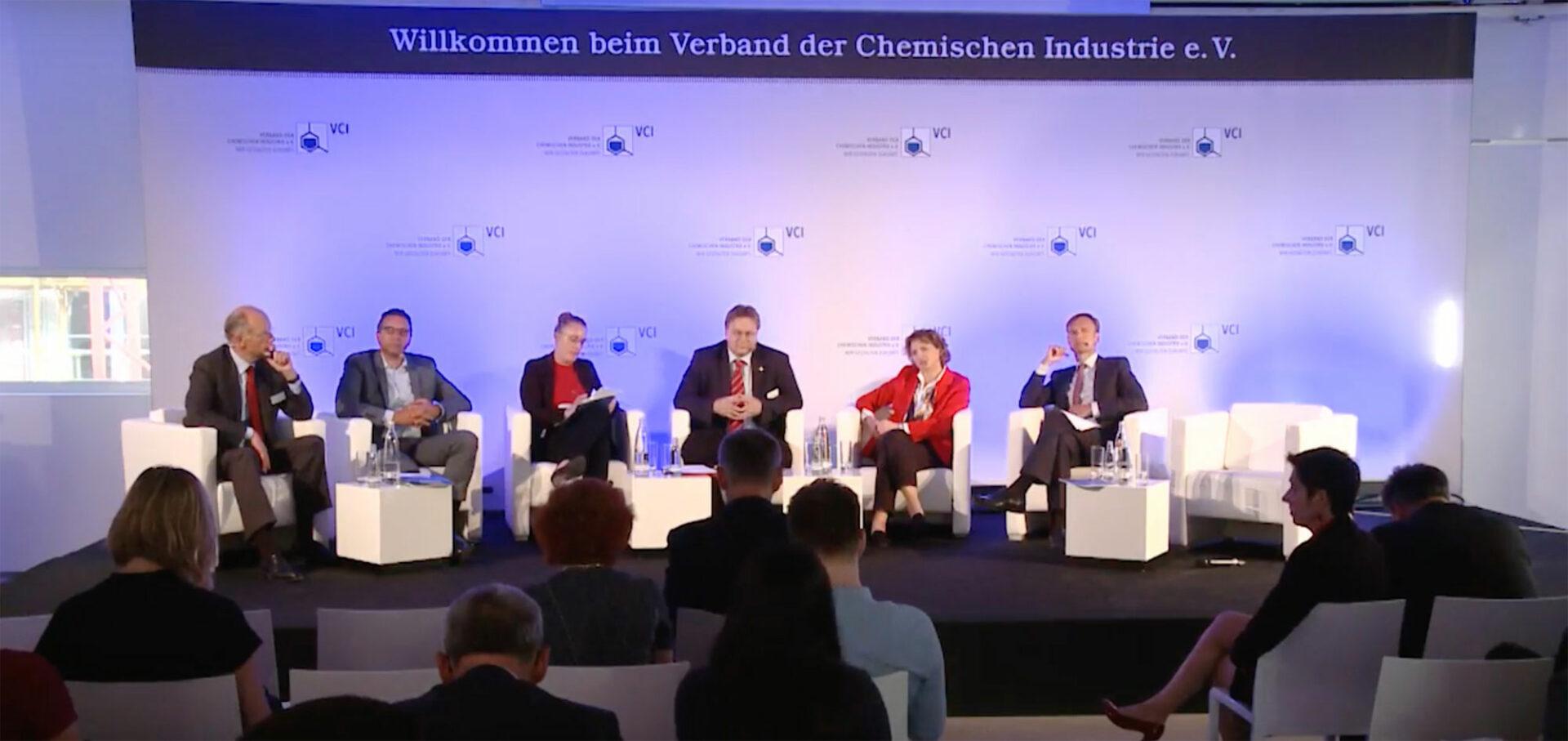 Contentflow streamt Diskussion des Verbandes der Chemischen Industrie (VCI)