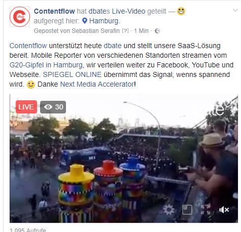 Livestream vom G20-Gipfel in Hamburg