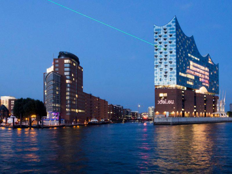 Mit Contentflow ist der XFEL-Laser nicht nur in Hamburg zu sehen