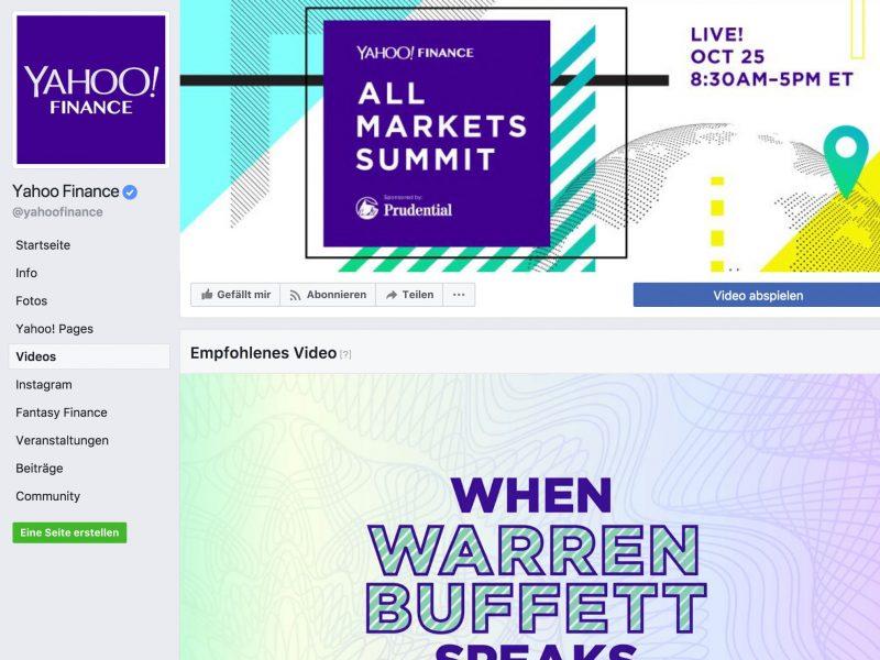 Von Yahoo lernen