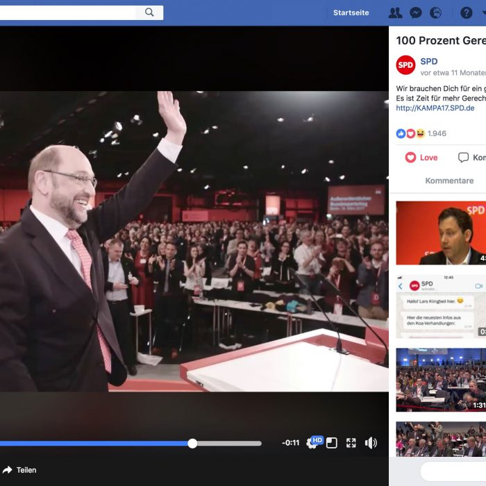 Social Media Video für Martin Schulz