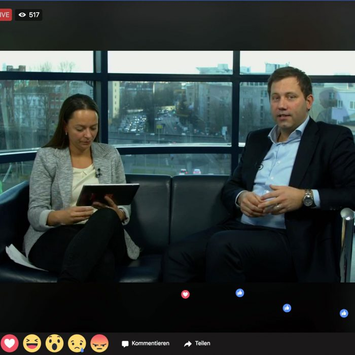 Facebook-Live mit Lars Klingbeil