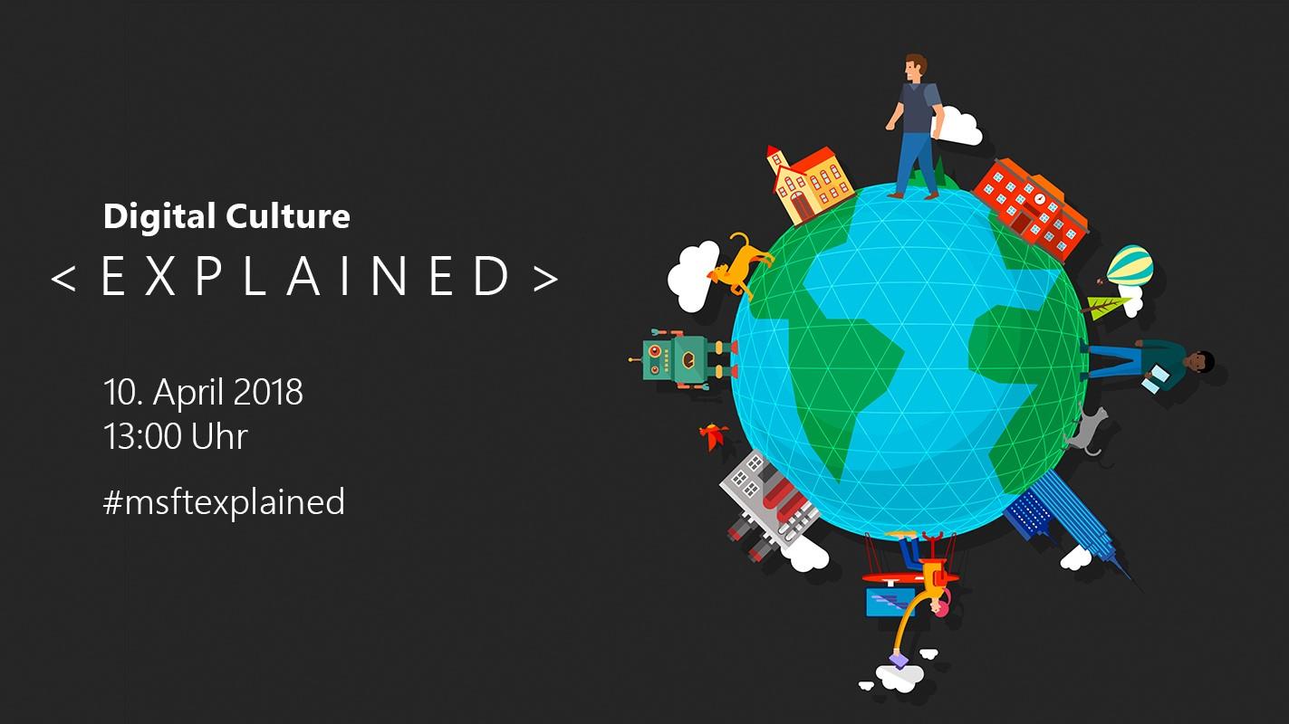 """Livestream von """"EXPLAINED – Die Digitalkonferenz bei Microsoft Berlin"""""""