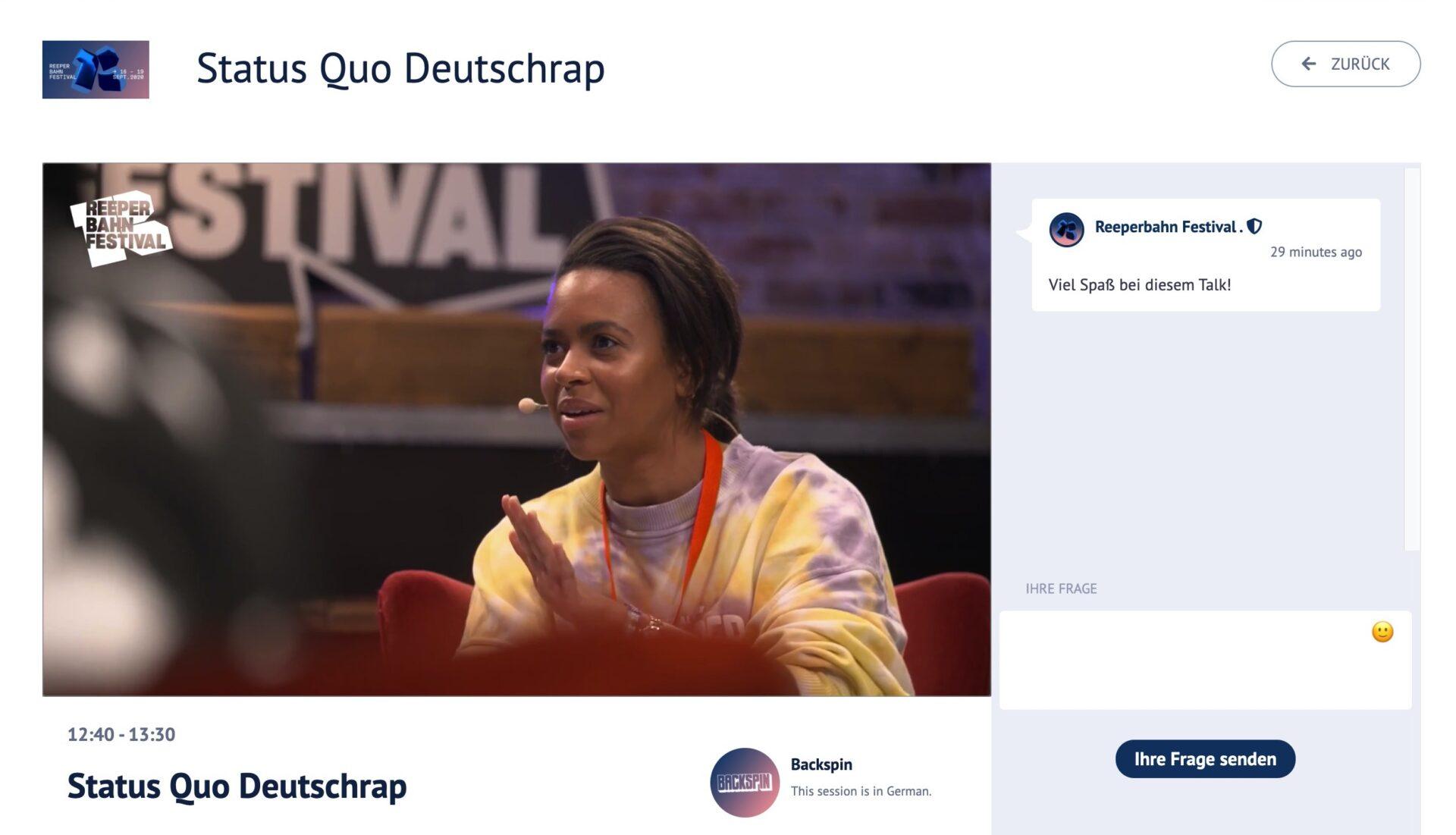 Contentflow und das Reeperbahn-Festival: Live im Club und im Stream
