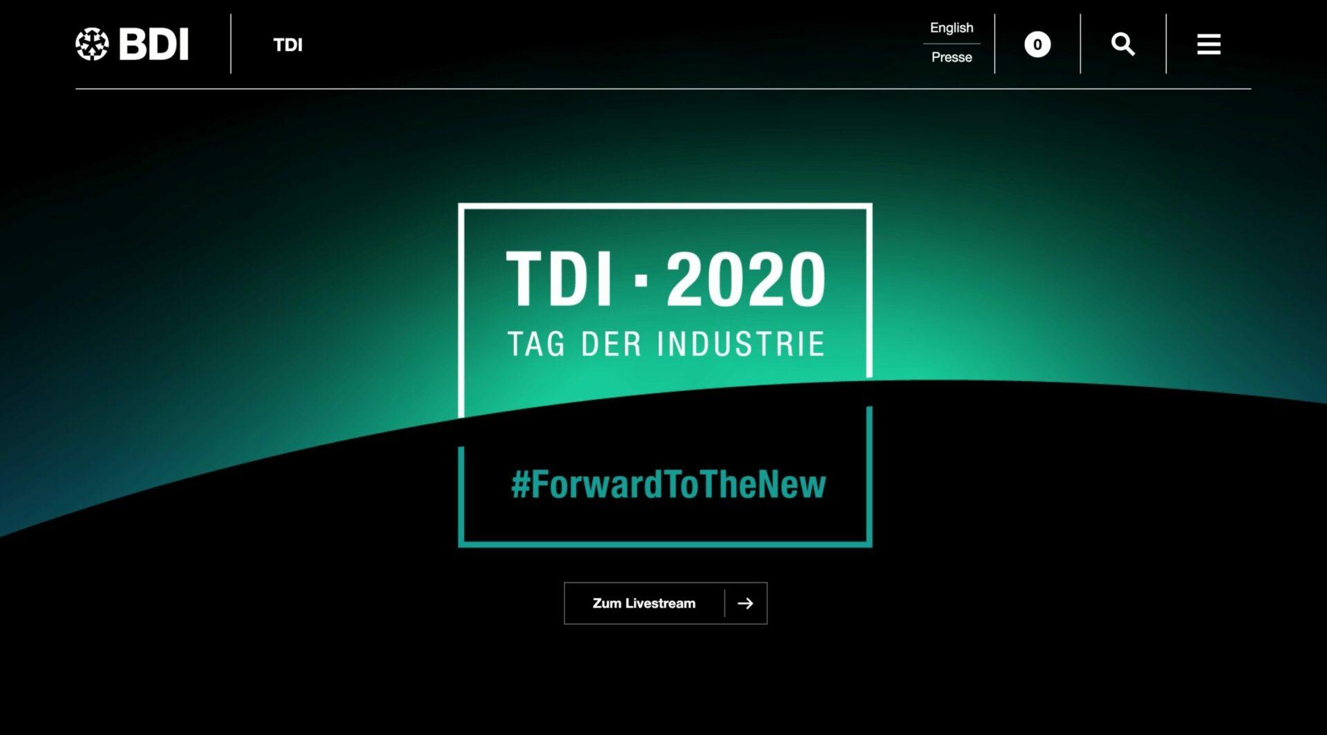 Contentflow und der Tag der Industrie (TDI)