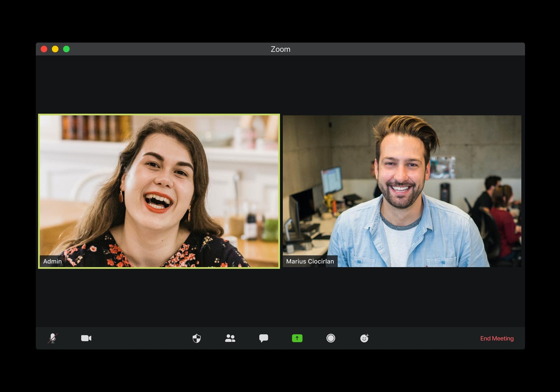 Ein Zoom-Meeting mit Contentflow streamen