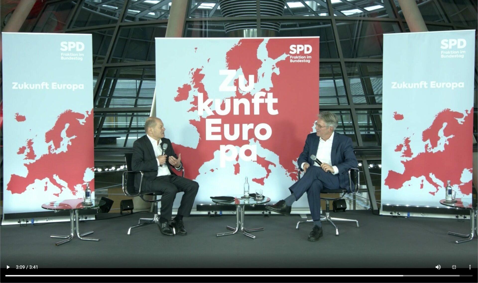 Livestream der SPD-Digitalkonferenz zur Zukunft Europas