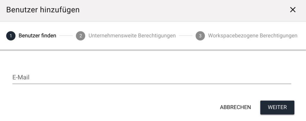 Contentflow Benutzer einladen